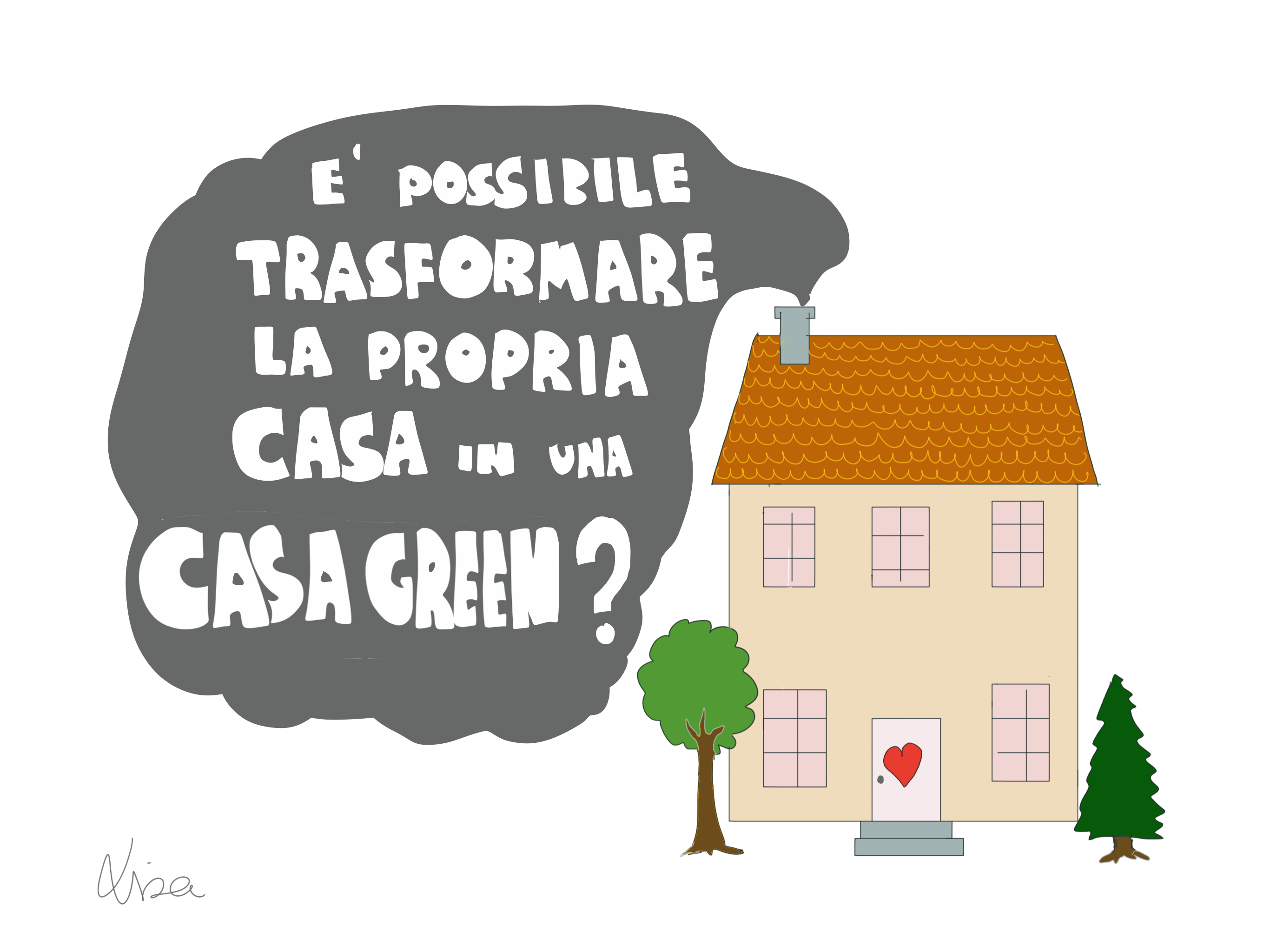 Come si trasforma la propria casa in una casagreen for Casa in stile missione